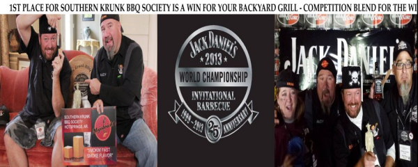MojoBricks Southern Krunk Society BBQ 1st Place Pork Jack Daniel's 2013