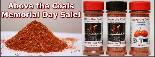 Above the Coals Seasonings