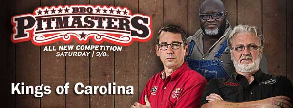 BBQ Pitmasters Kings of Carolina Pits New School vs. Old School