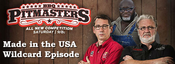 BBQ Pitmasters Made in the USA