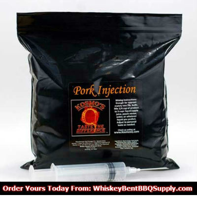 Kosmo's Q Pork Injection Whiskey Bent BBQ Supply