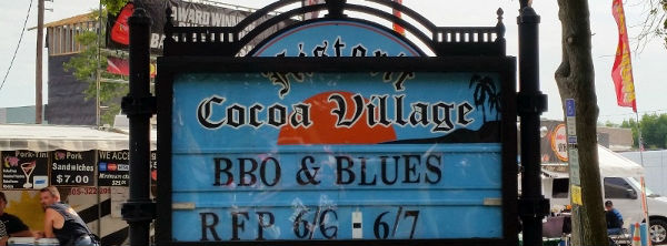 2014 Historic Cocoa Village's BBQ  Blues Lead