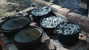 Dutch Oven Cooking - Lodge Cast Iron Dutch Ovens