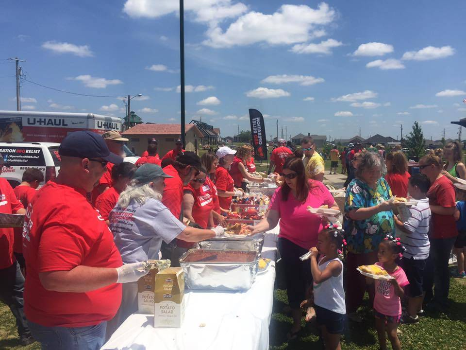 Operation BBQ Relief Feeding Folks in Need